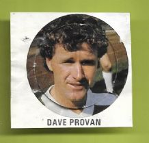 Glasgow Celtic Davie Provan (VB)